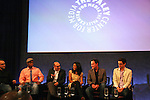 """Guiding Light's Matt Bomer """"Ben Reade"""" and now """"Neal Caffrey on USA's White Collar and cast: (L to R) Sharif Atkins """"Jones"""", Willie Garson """"Mozzie"""", Marsha Thomason """"Diana"""", Tim DeKay """"Peter Burke"""" were a part of White Collar Comes Clean at the Paley Center for Media, New York City, NY on June 7, 2010. (Photo by Sue Coflikn/Max Photos)"""