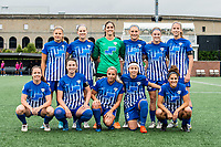 Boston, MA - Friday July 07, 2017: Boston Breakers starting eleven during a regular season National Women's Soccer League (NWSL) match between the Boston Breakers and the Chicago Red Stars at Jordan Field.