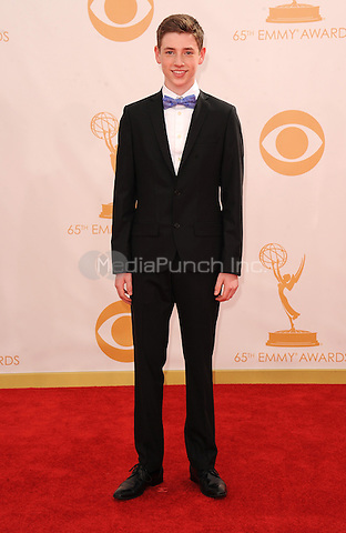 Jackson Pace arrives at the 65th Primetime Emmy Awards at Nokia Theatre on Sunday Sept. 22, 2013, in Los Angeles.  MPI213 / MediaPunch Inc.