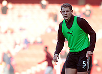 Burnley's James Tarkowski during the pre-match warm-up <br /> <br /> Photographer David Shipman/CameraSport<br /> <br /> The Premier League - Arsenal v Burnley - Saturday 22nd December 2018 - The Emirates - London<br /> <br /> World Copyright © 2018 CameraSport. All rights reserved. 43 Linden Ave. Countesthorpe. Leicester. England. LE8 5PG - Tel: +44 (0) 116 277 4147 - admin@camerasport.com - www.camerasport.com