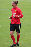 20200605 - TUBIZE , Belgium : Lenie Onzia pictured during a training session of the Belgian national women's soccer team called the Red Flames during their after Corona – Covid training week, on the 5 th of June 2020 in Tubize.  PHOTO SEVIL OKTEM| SPORTPIX.BE