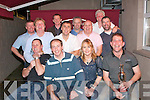 Golf Swingers: Some of the Kerins O'Rahillys GAA supporters Golf society having a laugh in the clubhouse, Strand Road, Tralee last Saturday night after a day playing in golf Waterville.    Copyright Kerry's Eye 2008