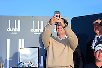 Thomas Levet (FRA) taking pictures after the final round at the Alfred Dunhill links Championship Old Course, St Andrews, Fife, Scotland.<br /> Picture Fran Caffrey www.golffile.ie