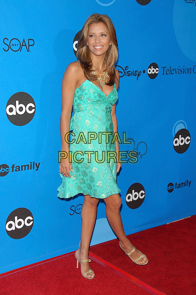 EVA LONGORIA.The Disney/ABC TCA Party held at The Rose Bowl in Pasadena,  California, USA..June 19th, 2006.Ref: DVS.full length dress turquoise .www.capitalpictures.com.sales@capitalpictures.com.Supplied By Capital PIctures