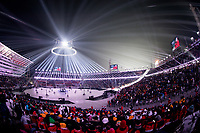 PYEONGCHANG,SOUTH KOREA,09.FEB.18 - OLYMPICS - Olympic Winter Games PyeongChang 2018, official opening ceremony. Image shows a general view of stadium. Photo: GEPA pictures/ Matic Klansek / Copyright : Explorer-media