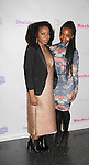 Maureen Tokeson-Martin & Maame Yaa Boafo at Color of Beauty Awards hosted by VH1's Gossip Table's Delaina Dixon and Maureen Tokeson-Martin on February 28, 2015 with red carpet, awards and cocktail reception at Ana Tzarev Gallery, New York City, New York.  (Photo by Sue Coflin/Max Photos)