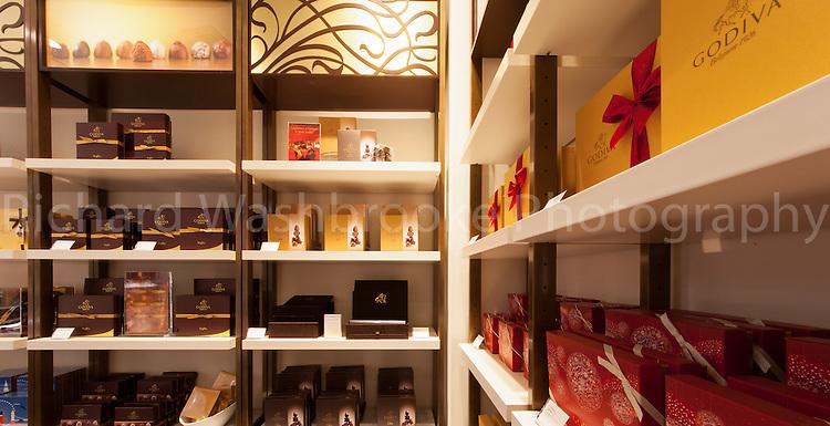 C and S Ltd - Godiva Chocolates, Canary Wharf  2nd November 2013