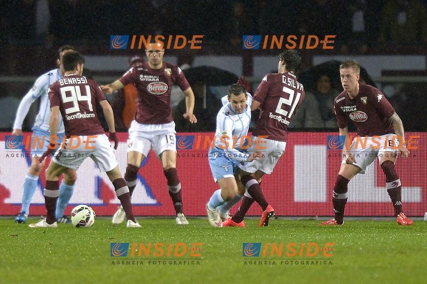 Miroslav Klose Lazio,<br /> Torino 16-03-2015, Stadio Olimpico, Football Calcio 2014/2015 Serie A, Torino - Lazio, Foto Filippo Alfero/Insidefoto