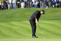 Phil Mickelson (USA) putts on the 5th green at Pebble Beach Golf Links during Saturday's Round 3 of the 2017 AT&amp;T Pebble Beach Pro-Am held over 3 courses, Pebble Beach, Spyglass Hill and Monterey Penninsula Country Club, Monterey, California, USA. 11th February 2017.<br /> Picture: Eoin Clarke | Golffile<br /> <br /> <br /> All photos usage must carry mandatory copyright credit (&copy; Golffile | Eoin Clarke)