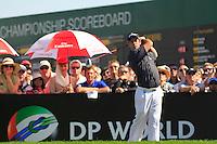 Jaco Van Zyl (RSA) on the third day of the DUBAI WORLD CHAMPIONSHIP presented by DP World, Jumeirah Golf Estates, Dubai, United Arab Emirates.Picture Fran Caffrey www.golffile.ie