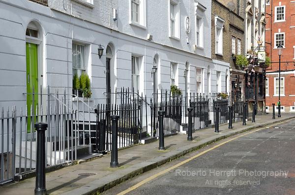 Tryon Street SW3, Chelsea, London, UK.