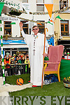 Mike Lyne Kilarney Celtic as Pope Francis
