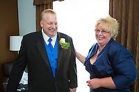 7/28/12 1:18:32 PM - Warminster, PA. -- Andrea & Dan - July 28, 2012 in Warminster, Pennsylvania. -- (Photo by Joe Koren/Cain Images)
