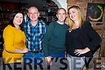 Anthony Hobbs from Shanakill Tralee celebrating his birthday in Croi on Saturday night.  <br /> L-r, Catriona and Anthony Hobbs and Roger and Norma Farmer.