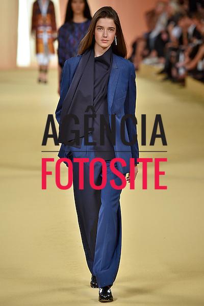 Paris, Fran&ccedil;a &sbquo;09/2014 - Desfile de Hermes durante a Semana de moda de Paris  -  Verao 2015. <br /> <br /> Foto: FOTOSITE