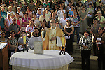 Feast of the Manifestation of the Lord to Peter and the Apostles, presided by Fr. Pierbattista Pizzaballa, Custos of the Holy Land at the Church of St. Peter's Primacy in Tabgha by the Sea of Galilee