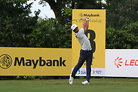 Thorbjorn Olesen (DEN) in action on the 8th during Round 1 of the Maybank Championship at the Saujana Golf and Country Club in Kuala Lumpur on Thursday 1st February 2018.<br /> Picture:  Thos Caffrey / www.golffile.ie<br /> <br /> All photo usage must carry mandatory copyright credit (© Golffile | Thos Caffrey)