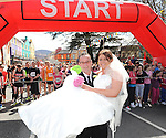 Alan Donnery and Grainne Lynch launching the Wedding Fair and  Fashion Show that will take place at  The  Kenmare Bay Hotel Sunday 5th May. Picture: MacMonagle, Killarney.