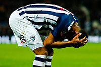 3rd March 2020; The Hawthorns, West Bromwich, West Midlands, England; English FA Cup Football, West Bromwich Albion versus Newcastle United; Darnell Furlong of West Bromwich Albion rues a missed opportunity