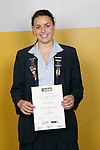 Waterpolo Girls Winner - Lauren Sieprath. ASB College Sport Young Sportsperson of the Year Awards 2006, held at Eden Park on Thursday 16th of November 2006.<br />