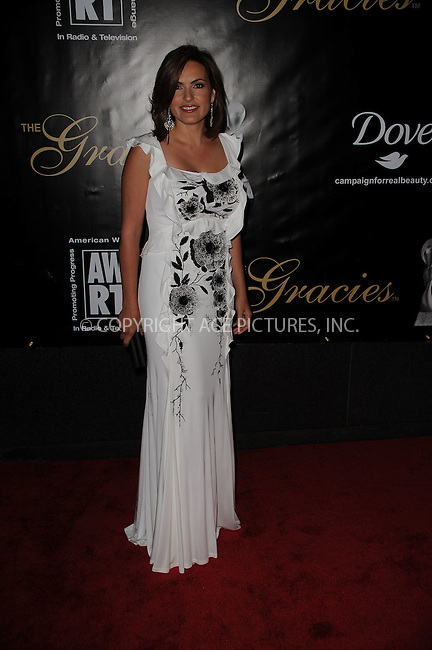 WWW.ACEPIXS.COM . . . . . ....June 3 2009, New York City....Mariska Hargitay arriving at the 34th Annual AWRT Gracie Awards Gala at The New York Marriott Marquis on June 3, 2009 in New York City.....Please byline: KRISTIN CALLAHAN - ACEPIXS.COM.. . . . . . ..Ace Pictures, Inc:  ..tel: (212) 243 8787 or (646) 769 0430..e-mail: info@acepixs.com..web: http://www.acepixs.com