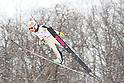 Sara Takanashi (JPN).FEBRUARY 7, 2012 - Ski Jumping : 15 year-old Sara Takanashi of Japan competes during the All-Japan Ski Jumping Championship women's NH at Miyanomori Jump Stadium in Sapporo, Japan..(Photo by AFLO)