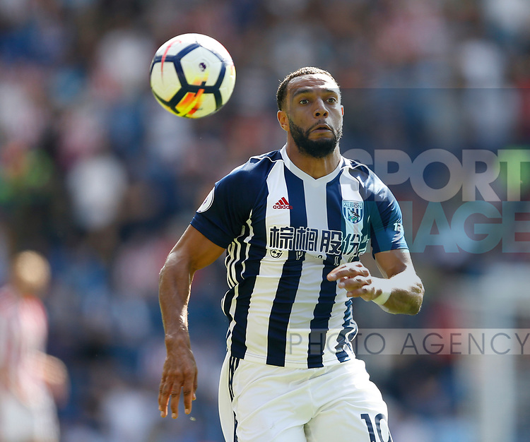 Matt Phillips of West Bromwich Albion during the premier league match at the Hawthorn's Stadium, West Bromwich. Picture date 27th August 2017. Picture credit should read: Simon Bellis/Sportimage