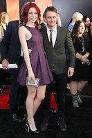 "HOLLYWOOD, LOS ANGELES, CA, USA - MAY 08: Chloe Dykstra, Chris Hardwick at the Los Angeles Premiere Of Warner Bros. Pictures And Legendary Pictures' ""Godzilla"" held at Dolby Theatre on May 8, 2014 in Hollywood, Los Angeles, California, United States. (Photo by Xavier Collin/Celebrity Monitor)"