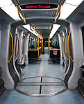 Inside a Metro in Copenhagen