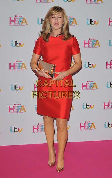 Kate Garraway at the Lorraine High Street Fashion Awards 2016, Grand Connaught Rooms, Great Queen Street, London, England, UK, on Tuesday 17 May 2016.<br /> CAP/CAN<br /> &copy;CAN/Capital Pictures
