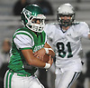Joe Angelastro #24 of Seaford rushes for a first down during the first quarter of the Nassau County Conference IV varsity football semifinals against Locust Valley at Hofstra University on Thursday, Nov. 9, 2017.