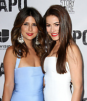 19 April 2017 - Los Angeles, California - Valentina Acosta and Juliette Pardau. Univision's 'El Chapo' Original Series Premiere Event held at The Landmark Theatre. Photo Credit: AdMedia