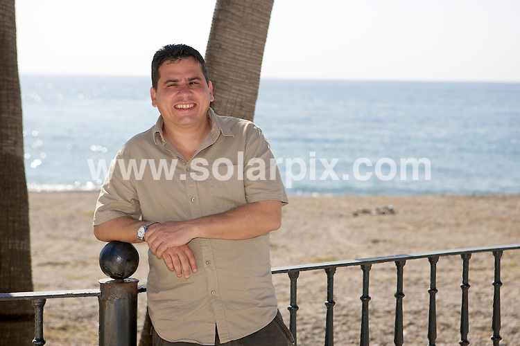 "**ALL ROUND EXCLUSIVE PICTURES FROM SOLARPIX.COM**                                             **WORLDWIDE SYNDICATION RIGHTS**                                                                                  Caption:   Pablo Pacheco, 40, was arrested in Cuba in 2003 during ""black spring"", a government crackdown on political dissidents. A journalist and writer, he was sentenced to 20 years in prison, along with 74 others. He was released from prison last year and now lives in Spain with his wife and son..""I am a writer. I write what I think. I am an independent journalist and blogger, and I am currently writing my first book. The book is about my experiences in the prisons of Cuba where I spent a total of 87 months..I got involved in the human rights movement in Cuba at the end of the 90s and worked as an independent journalist from 2000 until March 2003, when a wave of state repression, known as the ""black spring"", landed me in prison..In Cuba dissidents like us are used to living in fear. But in this life there are risks worth taking. We knew we risked going to jail but what we practised was an independent journalism which, despite being officially prohibited, seemed to be tolerated. That quickly came to an end when the government decided to enforce Law 88 - the gag law, as it's known in Cuba - and started arresting journalists.                                                                     This pic: Pablo Pacheco on the beach in Marbella                                                                                             JOB REF:13036        AB1       DATE: 28.03.2011                                                           **MUST CREDIT SOLARPIX.COM OR DOUBLE FEE WILL BE CHARGED**                                                                      **MUST AGREE FEE BEFORE ONLINE USAGE**                               **CALL US ON: +34 952 811 768 or LOW RATE FROM UK 0844 617 7637**"