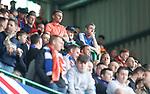29.04.18 Celtic v Rangers: Rangers fans after Celtic's fifth goal