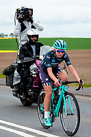 Picture by Alex Whitehead/SWpix.com - 04/05/2018 - Cycling - 2018 Asda Women's Tour de Yorkshire - Stage 1: Barnsley to Ilkley - Anna Christian of Trek Drops.