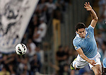 Calcio, Serie A: Lazio vs Genoa. Roma, stadio Olimpico, 23 settembre 2012..Lazio midfielder Hernanes, of Brazil, in action during the Italian Serie A football match between Lazio and Genoa at Rome's Olympic stadium, 23 September 2012..UPDATE IMAGES PRESS/Riccardo De Luca