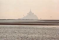 Europe/France/Normandie/Basse-Normandie/50/Manche/Mont Saint-Michel: Le Mont et sa baie