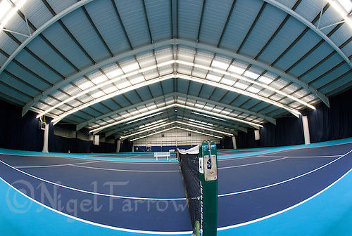 07 OCT 2009 - LOUGHBOROUGH, GBR - The Dan Maskell Tennis Centre at Loughborough University (PHOTO (C) NIGEL FARROW)