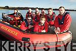 Killarney Water Rescue members Jimmy Sweetman, John Lynch, Diarmuid Galvin, John Shannon, Don Courtney, John O'Loughlin, Tommy McGillycuddy, John Coyle and John Wilson.