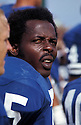 Los Angeles Rams Deacon Jones (75) during a game from his 1971 season.  Deacon Jones played for 14 years with 3 different teams , was a 8-time Pro Bowler and was inducted to the Pro Football Hall of Fame in 1980.