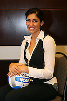 15 December 2006: Stanford Cardinal Cynthia Barboza was named to the First Team during Stanford's 2006 American Volleyball Coaches Association (AVCA) Division I All-American Teams Award Banquet at the Qwest Center in Omaha, NE.