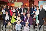 FAMILY: A graet day for the Griffin Family as karen and Billy Griffin, Kileen Heights, Tralee had their baby Julie Ann christened in St Btrendan's Church Tralee and held a reception in the Imperial Hotel..