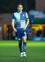 Stephen McGinn of Wycombe Wanderers during the Pre-Season Friendly match between Wycombe Wanderers and Queens Park Rangers at Adams Park, High Wycombe, England on the 22nd July 2016. Photo by Liam McAvoy / PRiME Media Images.