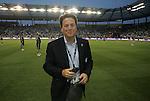 09 June 2011: Kansas City team owner Greg Maday. Sporting Kansas City played the Chicago Fire to a 0-0 tie in the inaugural game at LIVESTRONG Sporting Park in Kansas City, Kansas in a 2011 regular season Major League Soccer game.