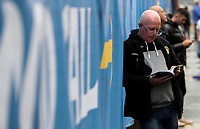 Leeds United fans enjoy the build up to the match<br /> <br /> Photographer Alex Dodd/CameraSport<br /> <br /> The EFL Sky Bet Championship - Leeds United v Birmingham City - Saturday 19th October 2019 - Elland Road - Leeds<br /> <br /> World Copyright © 2019 CameraSport. All rights reserved. 43 Linden Ave. Countesthorpe. Leicester. England. LE8 5PG - Tel: +44 (0) 116 277 4147 - admin@camerasport.com - www.camerasport.com