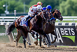 June 8, 2019 : #3, Mitole, ridden by jockey, Ricardo Santana, Jr., wins the Runhappy Metropolitan Stakes on Belmont Stakes Festival Saturday at Belmont Park in Elmont, New York. Kaz Ishida/Eclipse Sportswire/CSM
