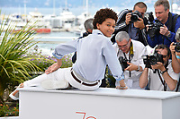 Jaden Michael at the photocall for &quot;Wonderstruck&quot; at the 70th Festival de Cannes, Cannes, France. 18 May 2017<br /> Picture: Paul Smith/Featureflash/SilverHub 0208 004 5359 sales@silverhubmedia.com