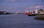 A728P7 Shipping River Yare Great Yarmouth Norfolk England