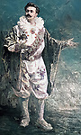 Portrait of animal trainer clown Vladimir Durov (1863-1934)