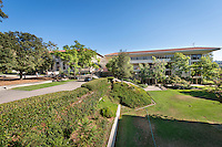 Mary Norton Clapp Library and Academic Commons of Occidental College, Los Angeles. (Photo by Marc Campos, Occidental College Photographer)